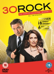 30 Rock: Seasons 1-7, DVD