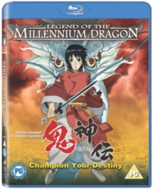 Legend of the Millennium Dragon, Blu-ray
