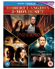The Da Vinci Code/Angels and Demons/Inferno, Blu-ray