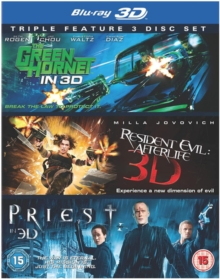 The Green Hornet/Priest/Resident Evil: Afterlife, Blu-ray