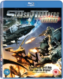Starship Troopers: Invasion, Blu-ray