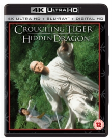 Crouching Tiger, Hidden Dragon, Blu-ray BluRay