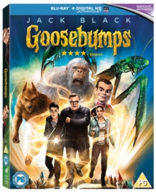 Goosebumps, Blu-ray