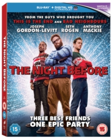 The Night Before, Blu-ray