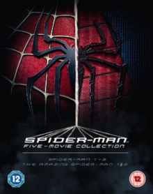The Spider-Man Complete Five Film Collection, Blu-ray
