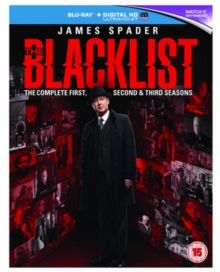 The Blacklist: The Complete First, Second & Third Seasons, Blu-ray