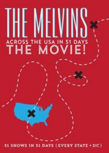 The Melvins: Across the USA in 51 Days - The Movie, DVD DVD