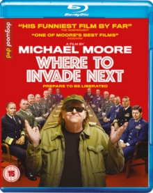 Where to Invade Next, Blu-ray