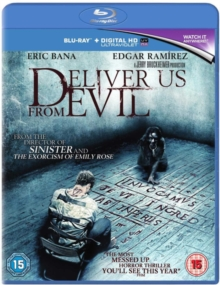 Deliver Us from Evil, Blu-ray  BluRay