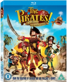 The Pirates! In an Adventure With Scientists, Blu-ray