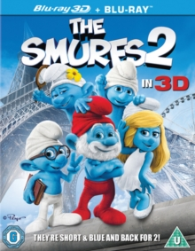 The Smurfs 2, Blu-ray