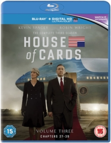 House of Cards: Season 3, Blu-ray  BluRay