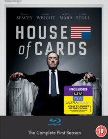 House of Cards: Season 1, Blu-ray