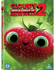 Cloudy With a Chance of Meatballs 2, DVD