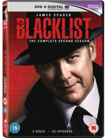 Blacklist: The Complete Second Season, DVD