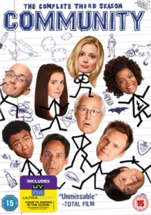 Community: The Complete Third Season, DVD