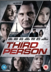Third Person, DVD