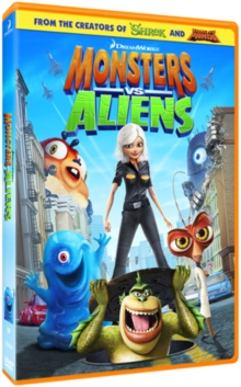 Monsters Vs Aliens, DVD