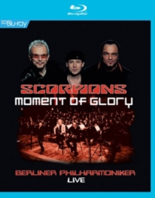 Scorpions: Moment of Glory, Blu-ray