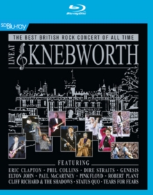 Live at Knebworth, Blu-ray