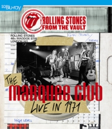 The Rolling Stones: From the Vault - 1971, Blu-ray