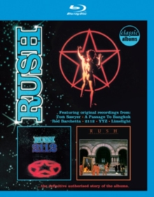 Rush: 2112/Moving Pictures, Blu-ray