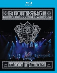 Heaven and Hell: Live from Radio City Hall, Blu-ray BluRay