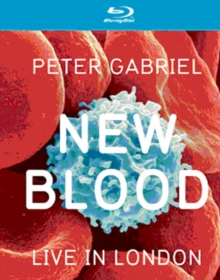 Peter Gabriel: New Blood - Live in London, Blu-ray