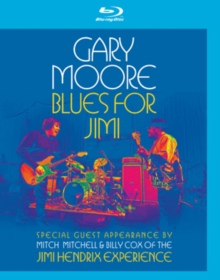 Gary Moore: Blues for Jimi, Blu-ray BluRay