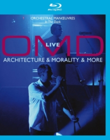 OMD: Live - Architecture and Morality and More, Blu-ray