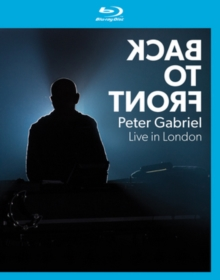 Peter Gabriel: Back to Front, Blu-ray BluRay