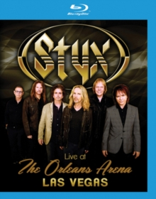 Styx: Live at the Orleans Arena, Blu-ray BluRay