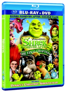 Shrek: Forever After - The Final Chapter, Blu-ray