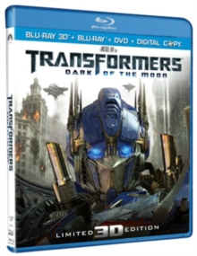 Transformers: Dark of the Moon, Blu-ray