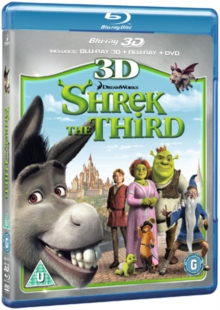Shrek the Third, Blu-ray