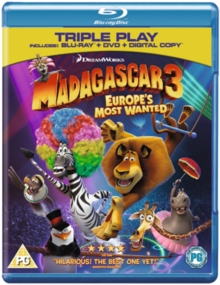Madagascar 3 - Europe's Most Wanted, Blu-ray  BluRay
