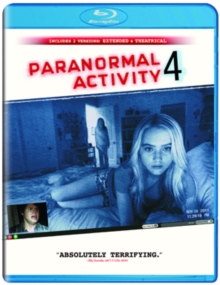 Paranormal Activity 4: Extended Edition, Blu-ray