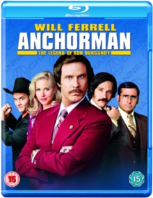 Anchorman - The Legend of Ron Burgundy, Blu-ray