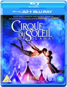Cirque Du Soleil: Worlds Away, Blu-ray