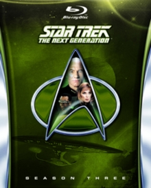 Star Trek the Next Generation: The Complete Season 3, Blu-ray