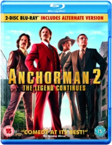 Anchorman 2 - The Legend Continues, Blu-ray