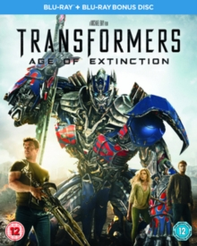 Transformers: Age of Extinction, Blu-ray