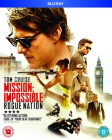 Mission Impossible: Rogue Nation, Blu-ray