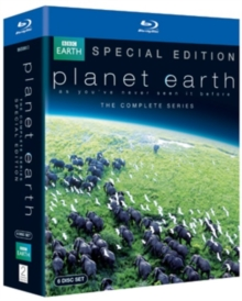 David Attenborough: Planet Earth - The Complete Series, Blu-ray
