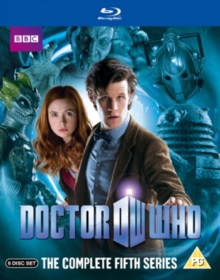 Doctor Who: The Complete Fifth Series, Blu-ray