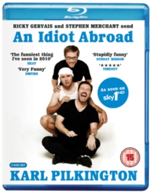An  Idiot Abroad: Series 1, Blu-ray