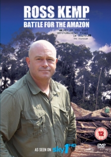 Ross Kemp: Battle for the Amazon, Blu-ray  BluRay