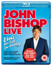 John Bishop: Live - The Elvis Has Left the Building Tour, Blu-ray