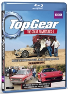 Top Gear - The Great Adventures: Volume 4, Blu-ray  BluRay