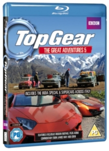 Top Gear - The Great Adventures: Volume 5, Blu-ray  BluRay